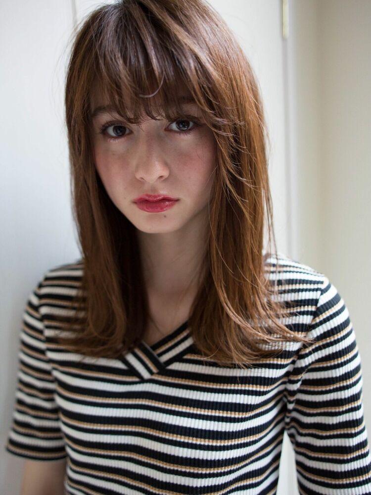 Lond avenir本田奈穂美/20.30.40.50代◎大人可愛い外ハネミディ