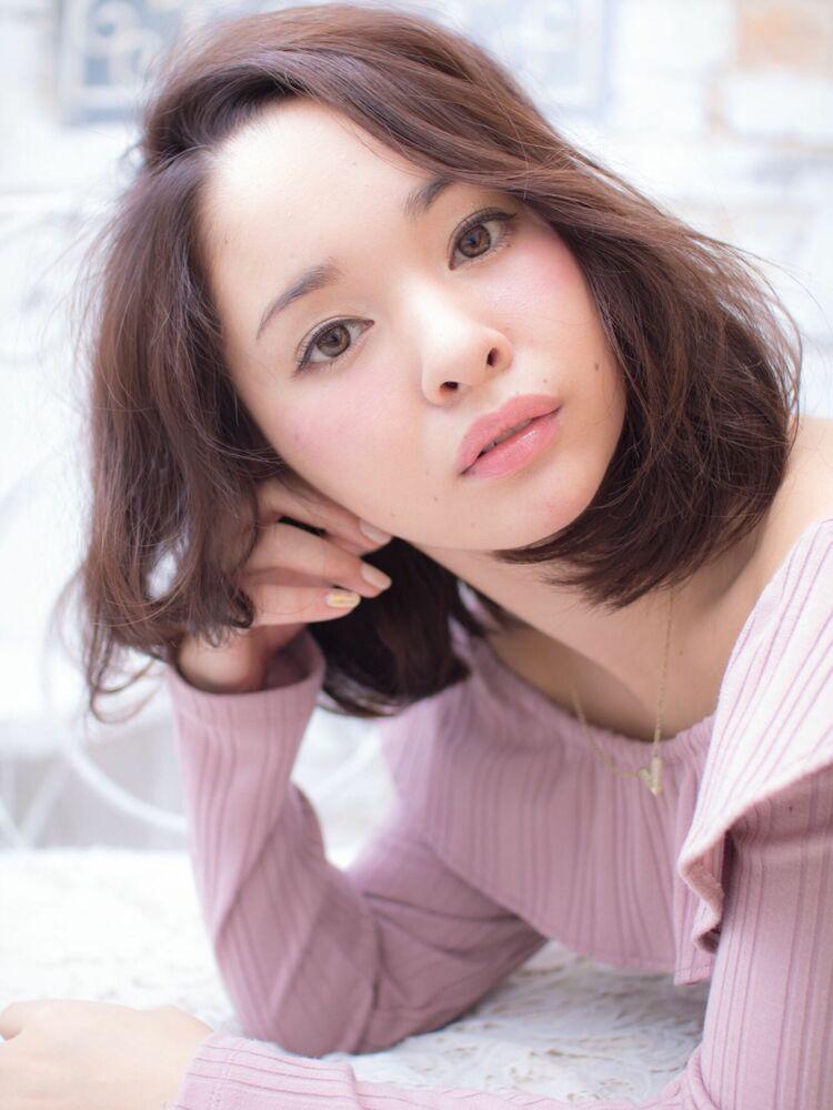 Lond avenir本田奈穂美/20.30.40.50代◎大人可愛いワンカールボブ