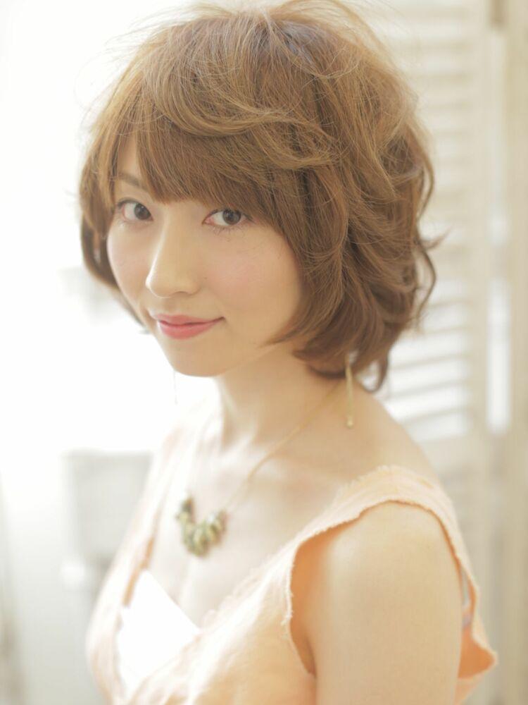 RUTA/野田阪神/髪質改善/透明感ベージュ/ワンカールパーマ