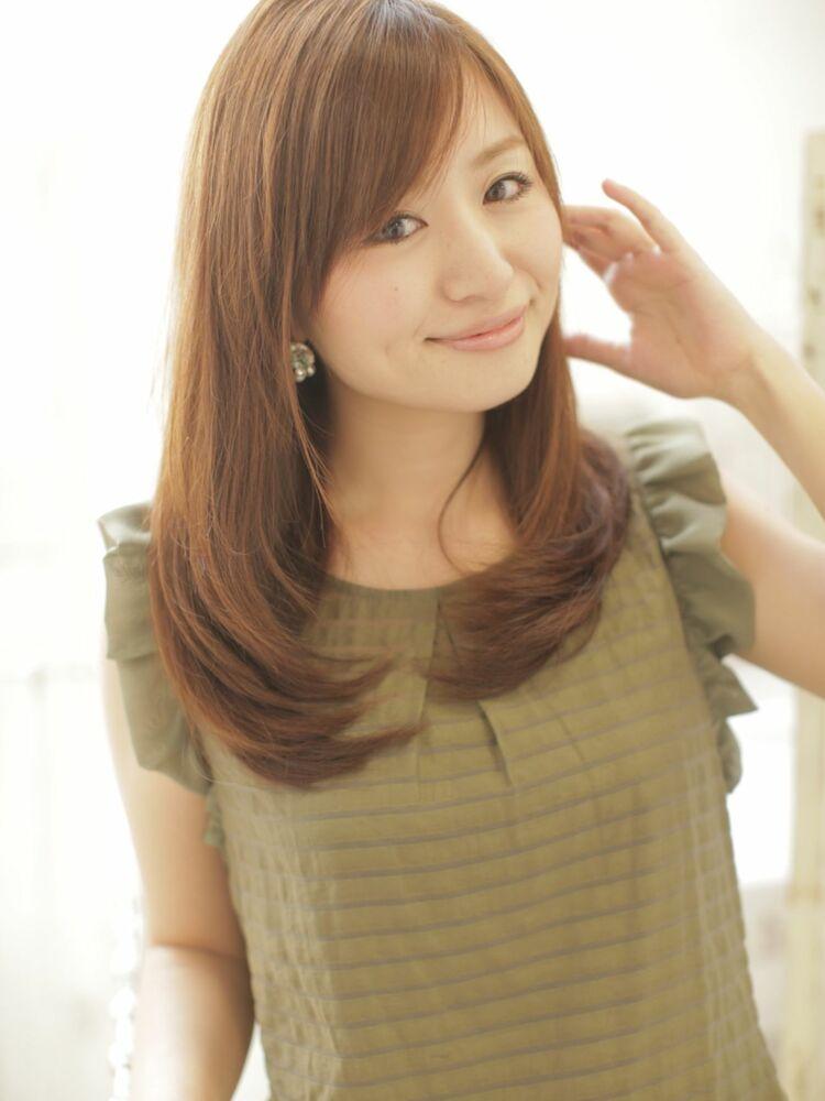 RUTA/髪質改善/アディクシーカラー/ナチュラルレイヤー/ヌーディベージュ