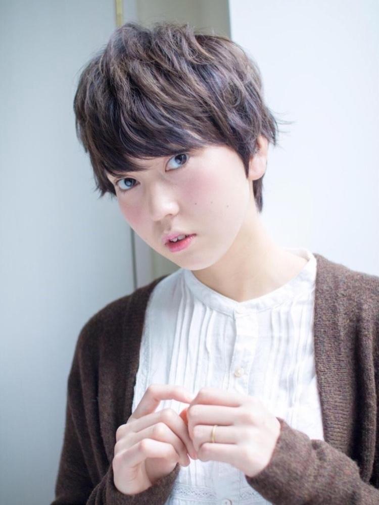 槌矢圭悟/ショート/ショートボブ/大人可愛い/ニュアンスパーマ