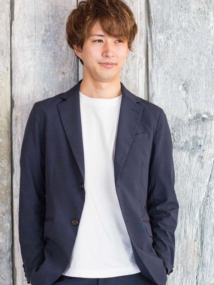lond leglise 槌矢圭悟 ビジネスショート/メンズカット/ニュアンスパーマ