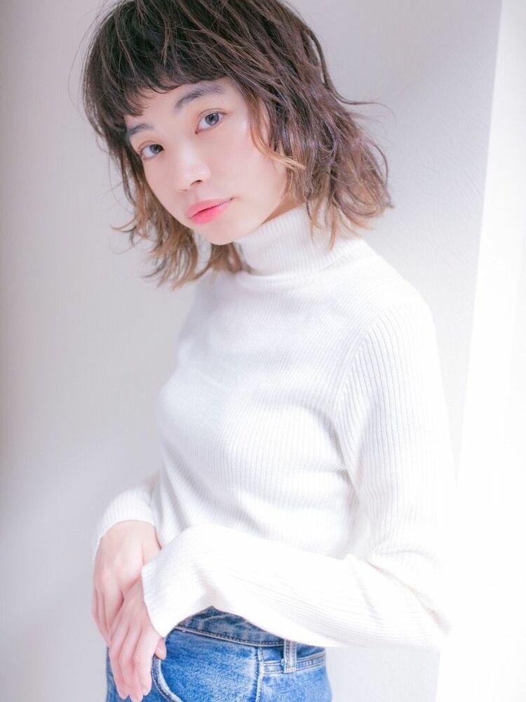 lond leglise 槌矢圭悟・グラデーションカラー/ブリーチ毛先/ベージュ/アッシュ
