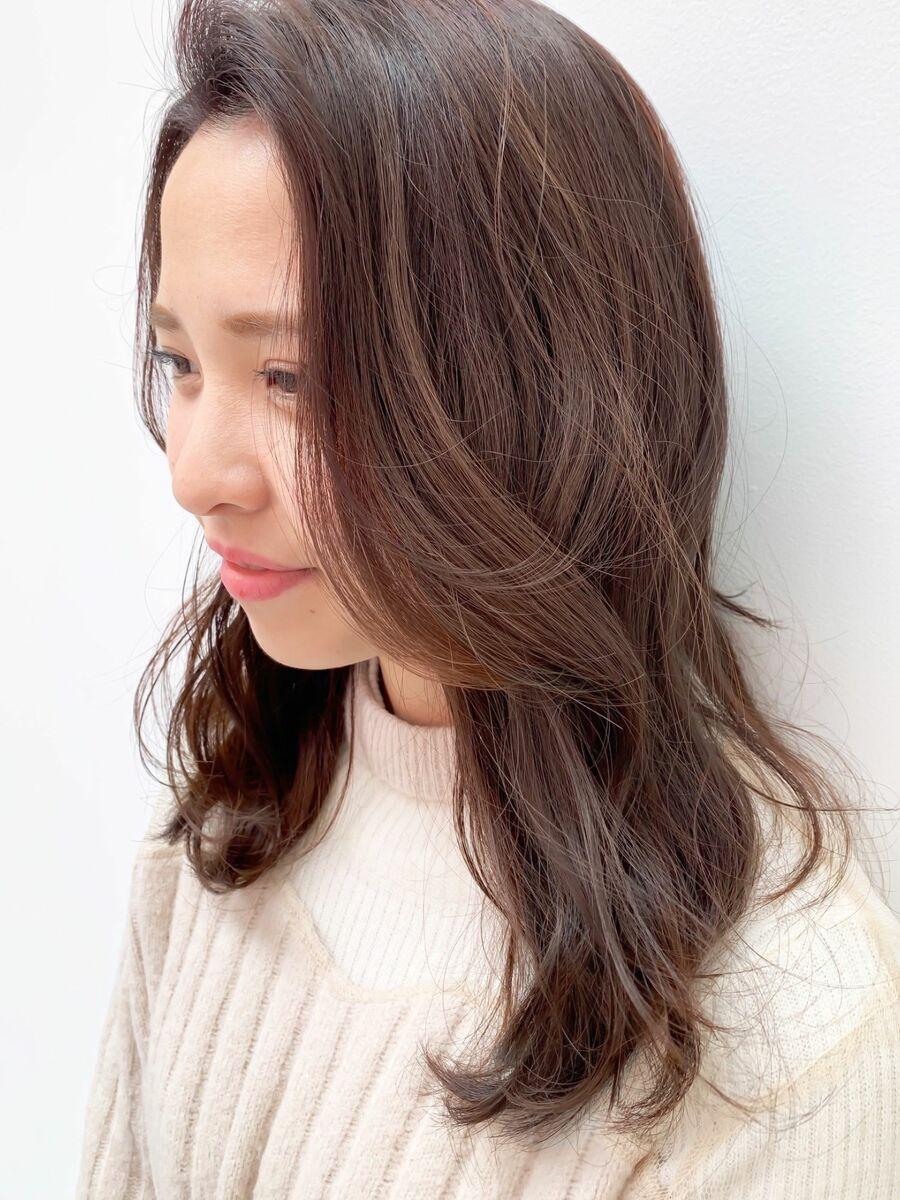 Y!Beauty PicUpスタイリスト FRANZ 下地雄太/透明感バイオレットベージュ