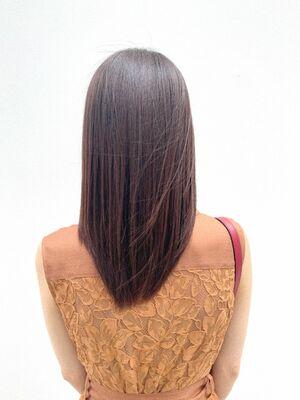 FRANZ 下地/艶髪/ストレートヘア/髪質改善/トリートメント
