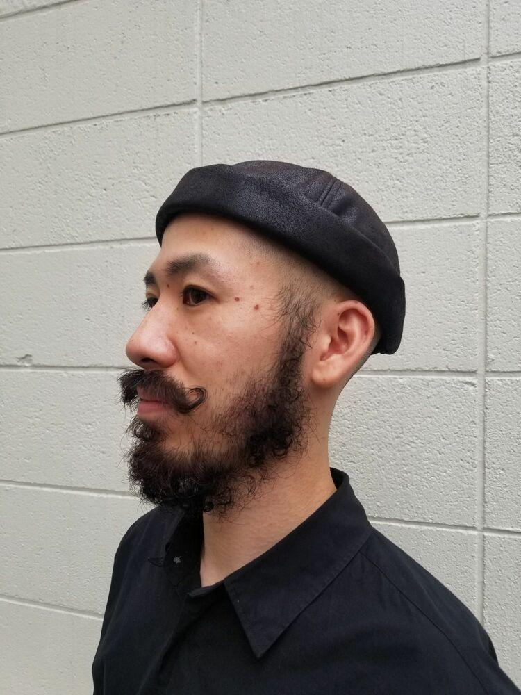 ひげパーマ