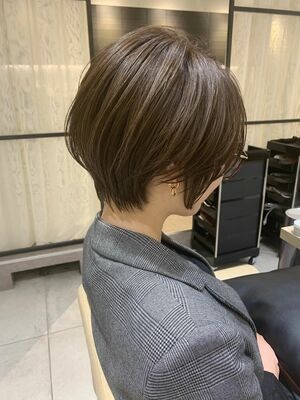 25歳からの大人かわいいショートヘア☆