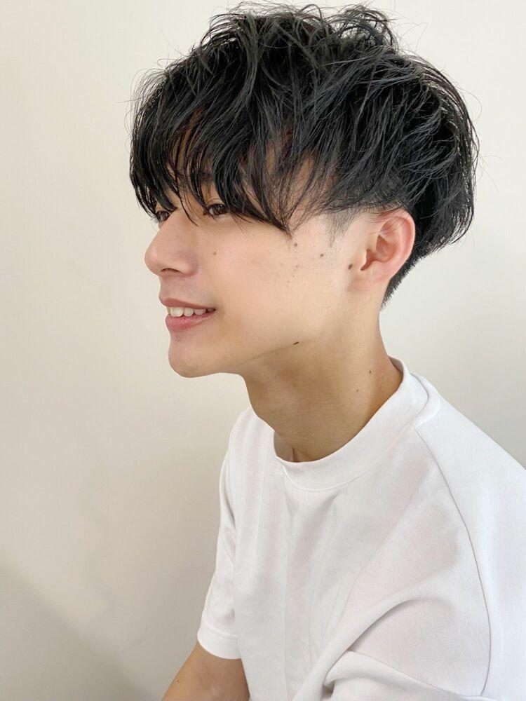 黒髪メンズショート✂︎