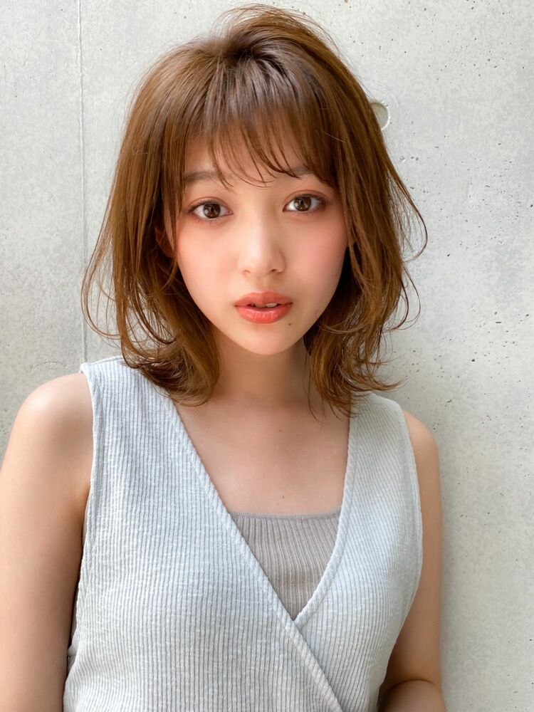 人気No.1★大人かわいいミディ✂︎