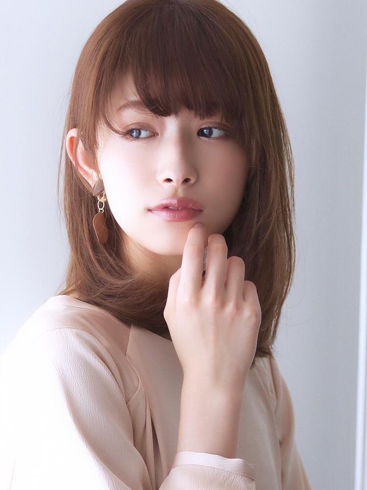Agnos青山★上品女性・大人ミディ・ひし形小顔シルエット♪