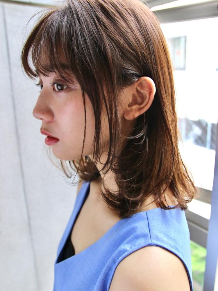 Agnos青山★20代30代40代◎小顔ひし形シルエット