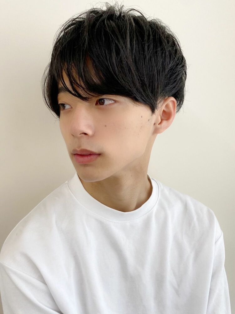 黒髪メンズショート★