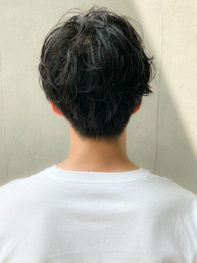 センターパート★メンズショート