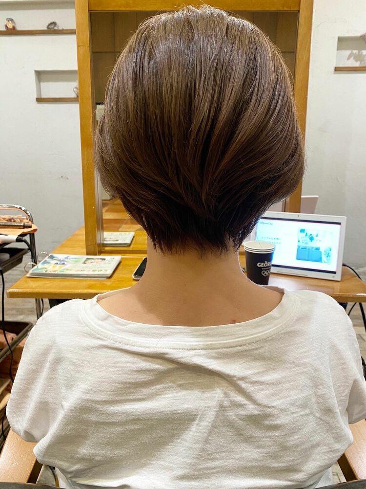 オシャレママにオススメ!とにかく手入れが簡単なショートヘア
