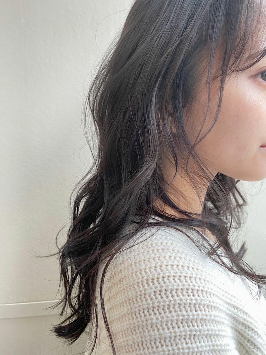 イルミナカラー☆デジタルパーマ☆グレージュカラー☆暗髪カラー☆大人可愛い☆表参道