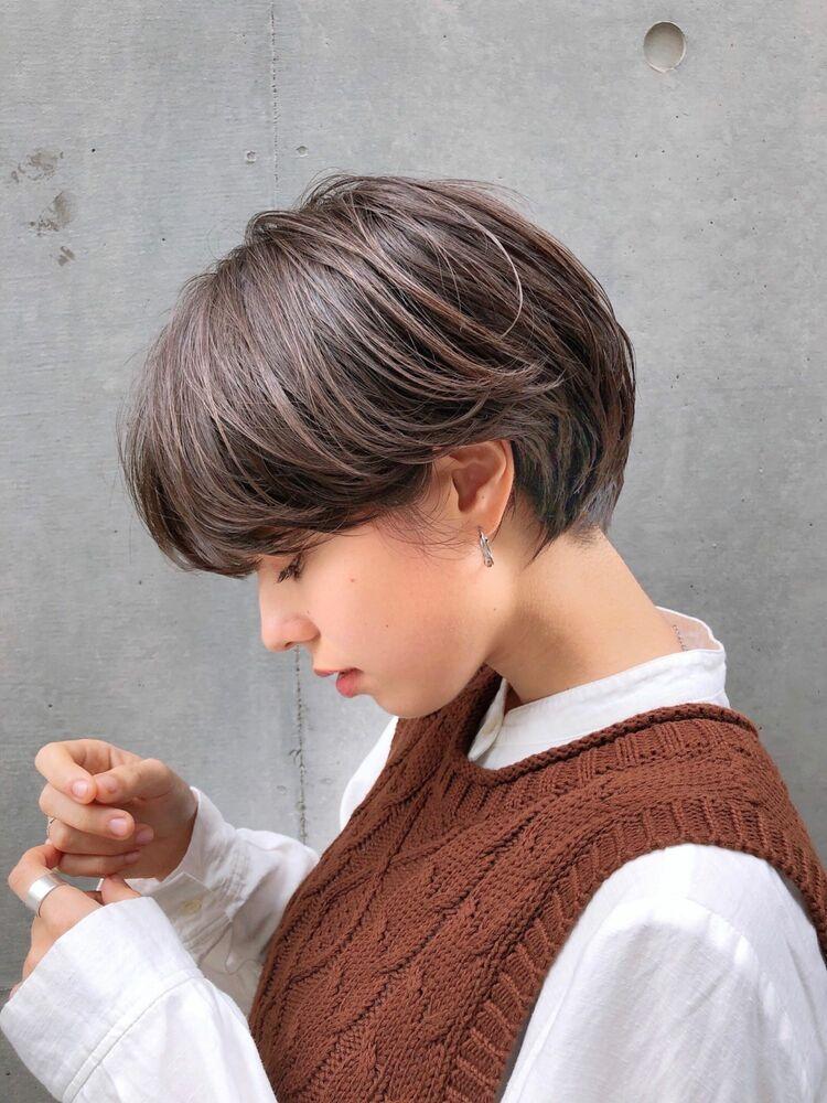 sand吉田♪横顔美人ショートボブ