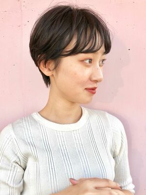 BALLOON HAIR 表参道店(ヒルズ裏 1分) ハンサムショート お客スタイル