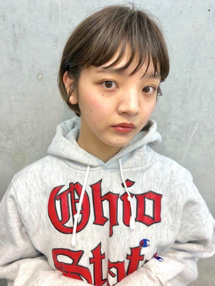BALLOON HAIR 表参道店(ヒルズ裏 1分) ボーイッシュ女子ショート