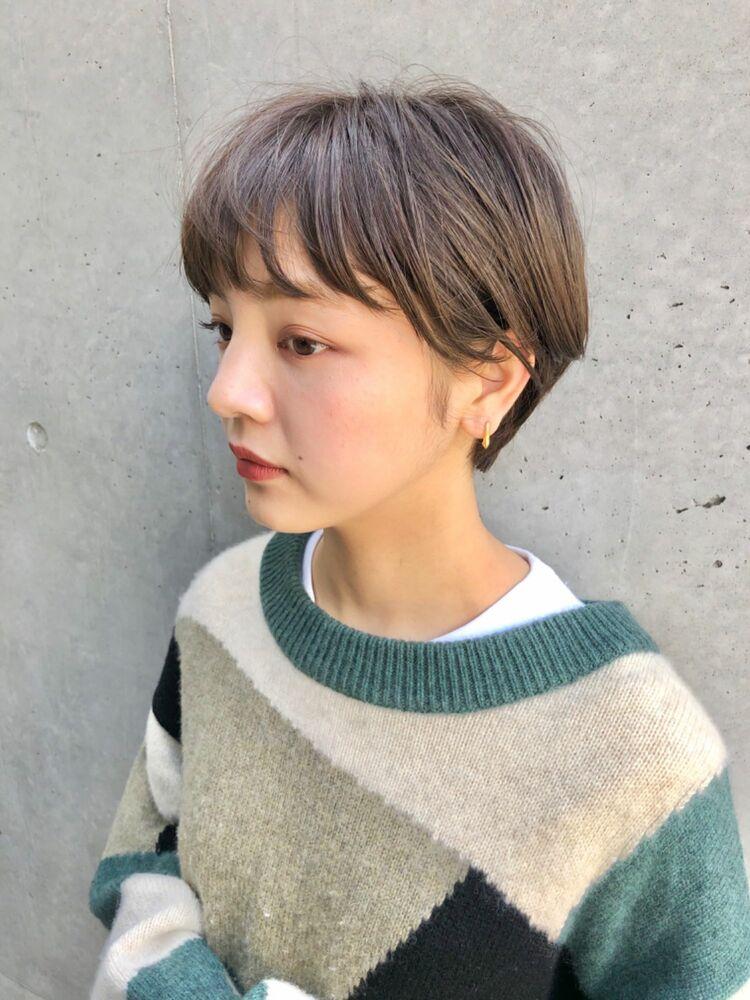 BALLOON HAIR 表参道店(ヒルズ裏 1分) ボーイッシュショート お客スタイル