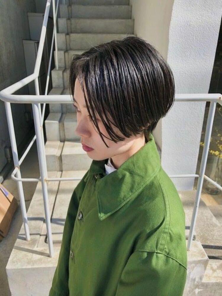BALLOON HAIR 表参道店(ヒルズ裏 1分) ハンサムショート お客様のスタイル