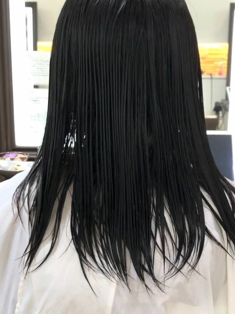 before after画像⭐︎ピアスの似合う髪へ