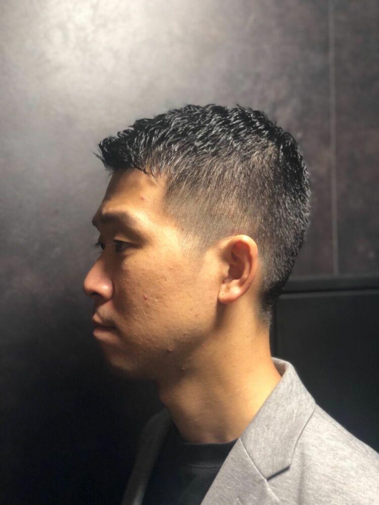 ソフモヒ バーバー barber 東京 神田理容室 美容室 ヒロ銀座 神田 床屋 2020秋冬