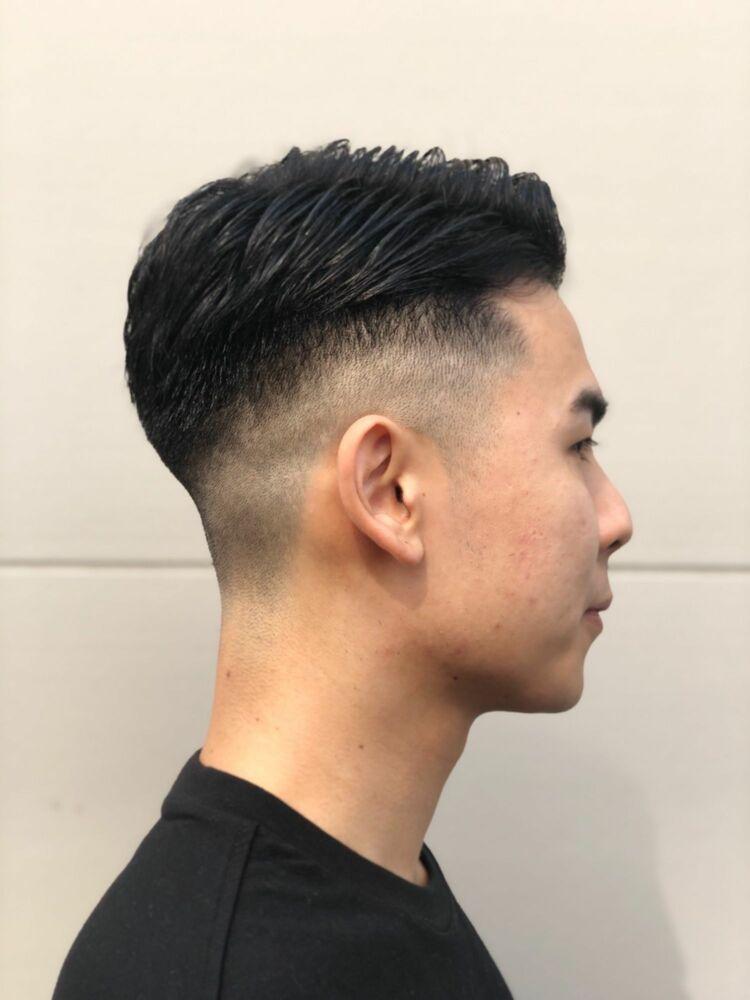 バーバー フェード スタイル!! 73スタイル barber ヒロ銀座 床屋 ベリーショート