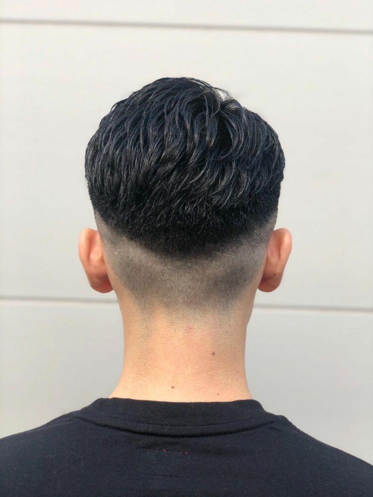 フェード ベリーショート ジェルセット バーバー スタイル ヒロ銀座 73セット barber