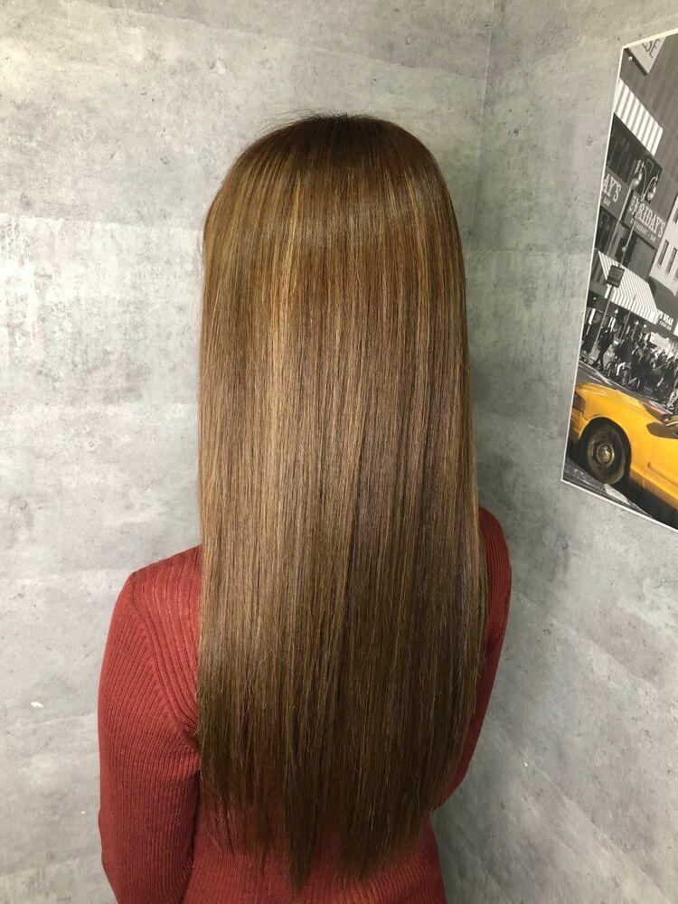 髪質改善トリートメントベージュcolor