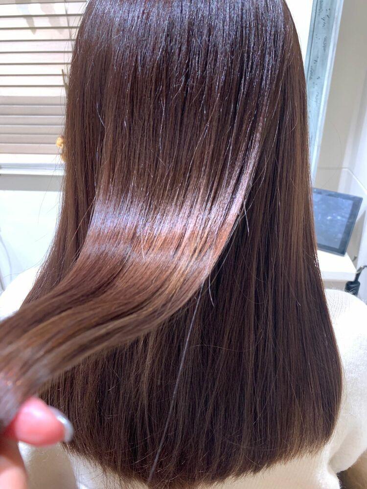 話題の酸熱トリートメントでつくる最強艶髪💗