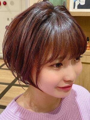 池袋★La bonheur hair reve★加々美賢育桜ショート