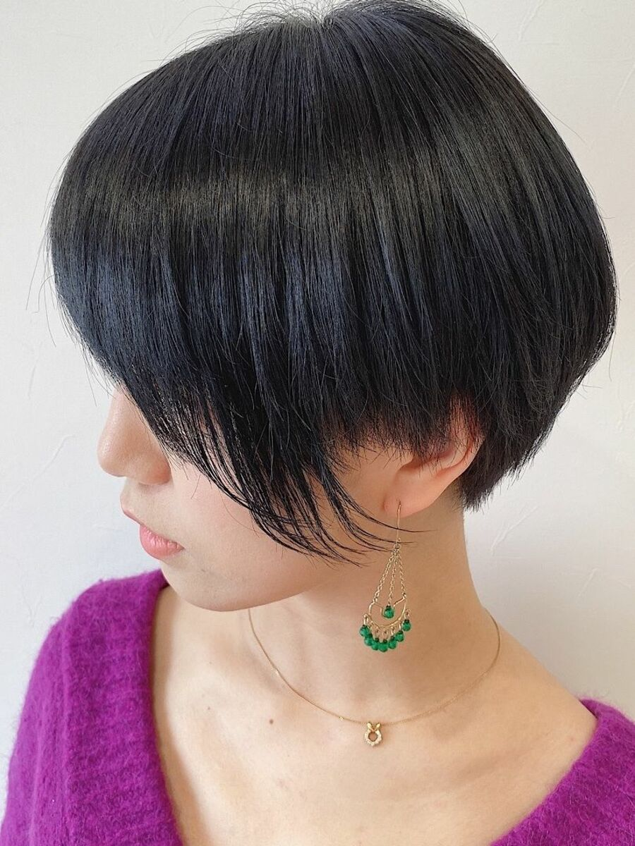 池袋★La bonheur hair reve★加々美賢育モードショート