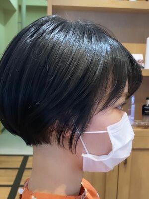 池袋★La bonheur hair reve★加々美賢育丸みショート★