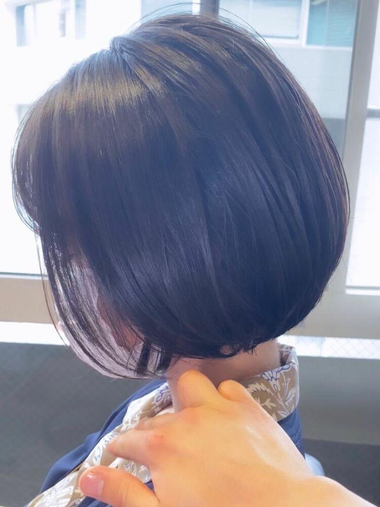 池袋★La bonheur hair reve★加々美賢育丸みボブ
