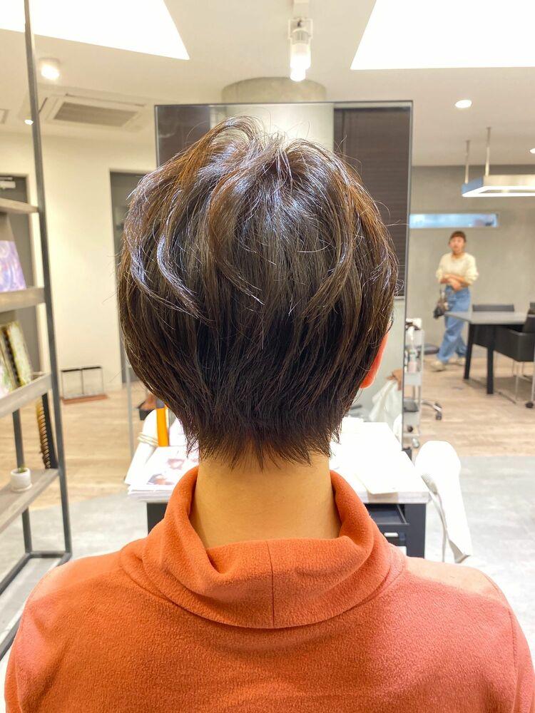 池袋★La bonheur hair reve★加々美賢育就活にも強い♪ショートヘア