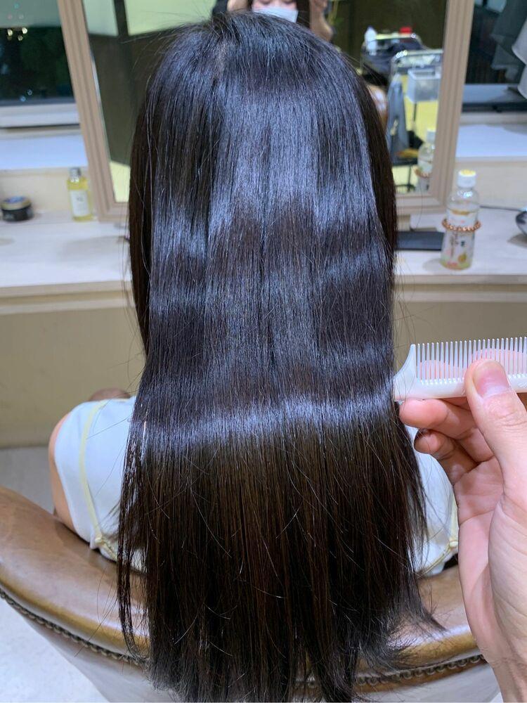 髪質改善艶髪矯正