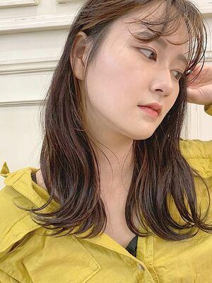 beige × long