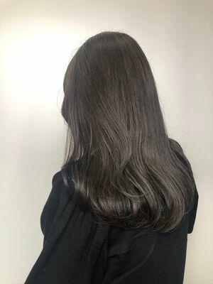 💙暗髪ディープグレー💙