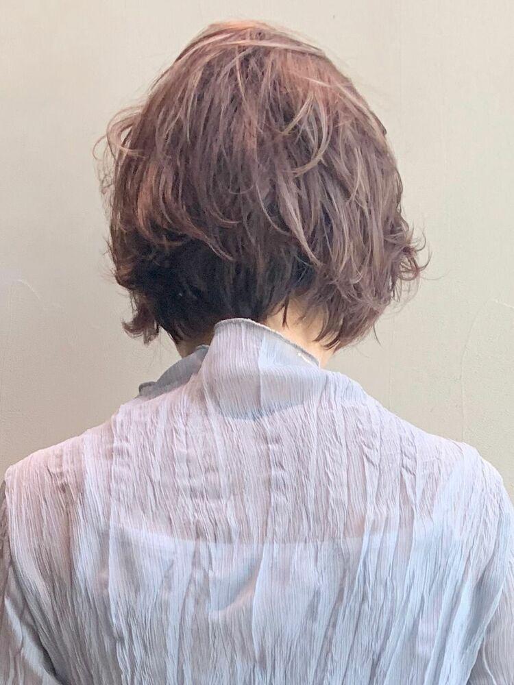 くせ毛風ショート_6440