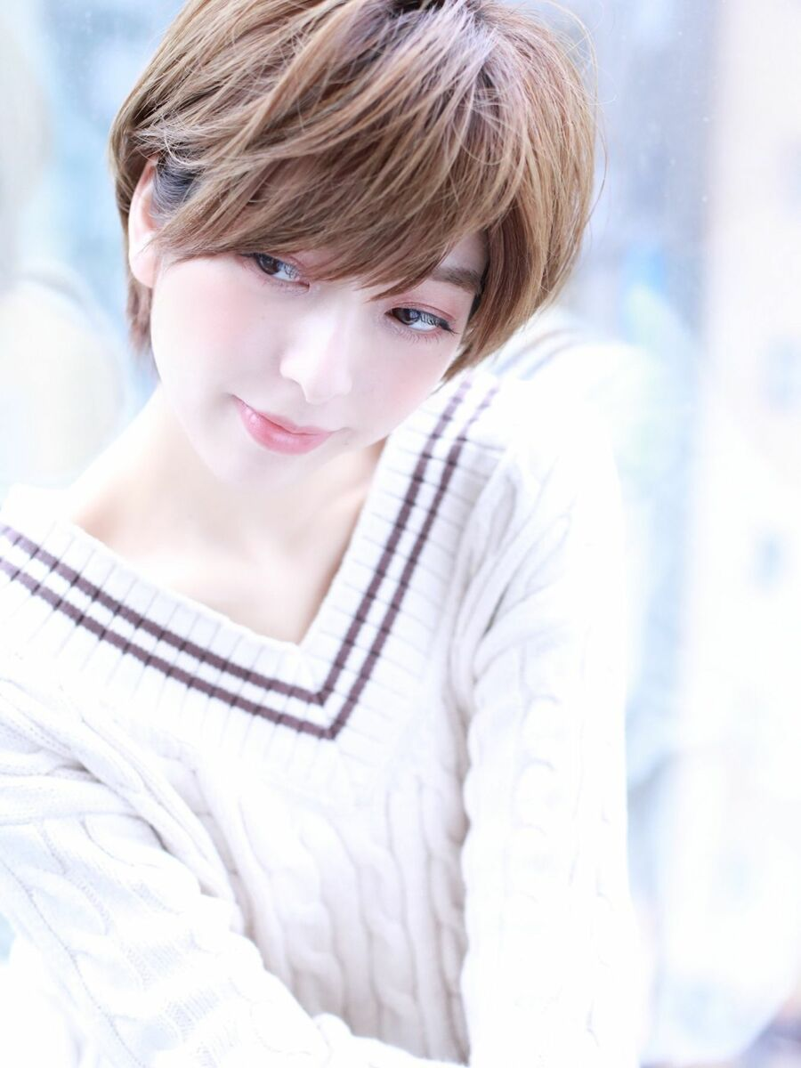 ノーパートでふんわり大人綺麗なショートヘア☆