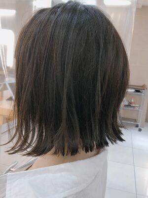 大人カジュアル×外ハネボブ◆シースルーバング☆