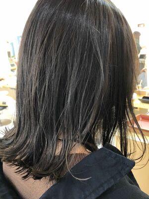大人カジュアル×外ハネミディアム☆20代30代40代50代☆ウルフカット☆