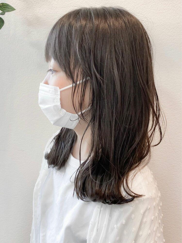 大人顔負けのおしゃカワ☆顔まわりレイヤー×韓国風キッズヘア(小学生)