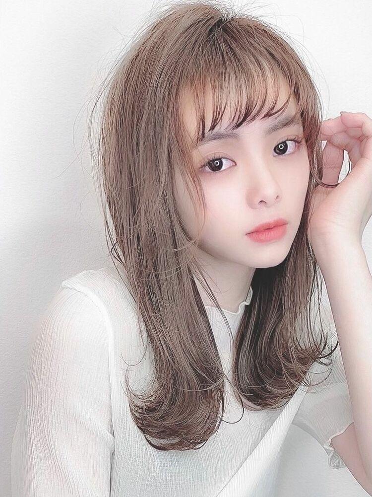 赤みがなくて透明感たっぷり☆夏のイルミナ×ミルージュカラー