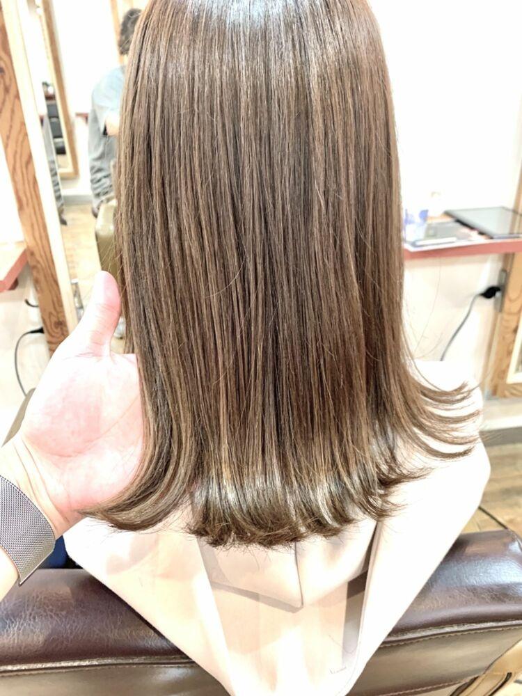 大人の艶髪カラー×TOKIOリミテッドトリートメント
