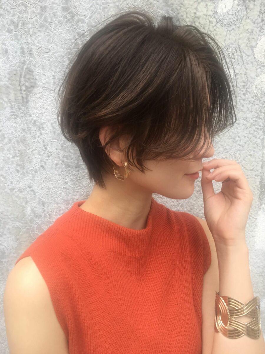 銀座/カットが上手い/ショートボブ/ボブ/ハンサムショート/大人可愛い/@natsuumi_hair
