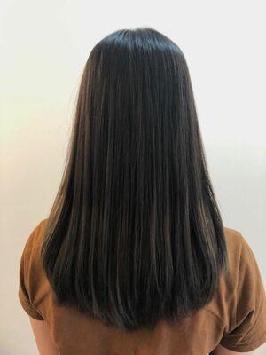ツヤツヤ素髪ストレート