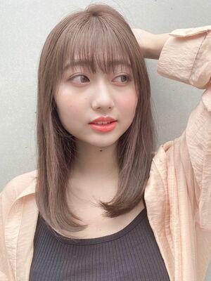 ナチュラルな縮毛矯正が人気!!!