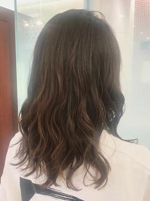 apish  ginZa*佐藤涼香*コテ巻き風デジタルパーマヘア