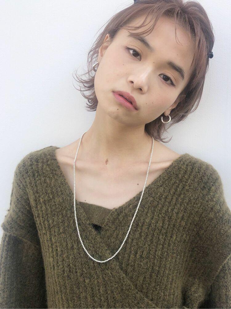 ウルフショート☆ラベンダーピンク